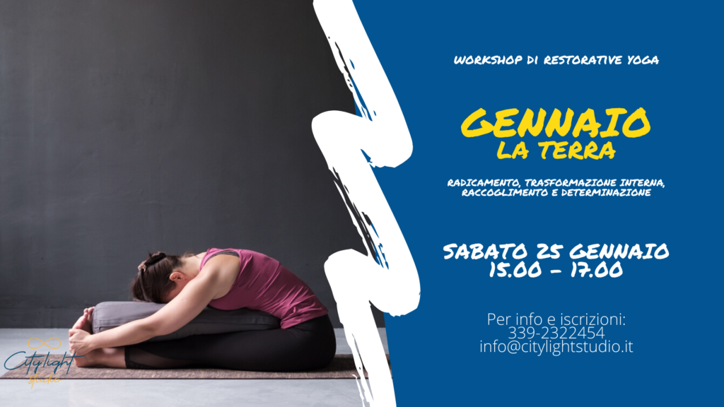 Gennaio Terra Capricorno Restorative Yoga