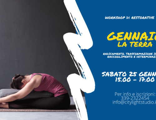 Workshop Restorative Yoga – L'Elemento Terra ed il Raccoglimento interiore