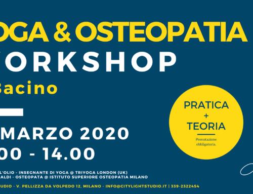 Workshop Yoga e Osteopatia – Il Bacino – 28 Marzo 2020
