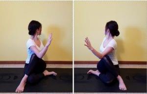 yoga esercizi dolore cervicale