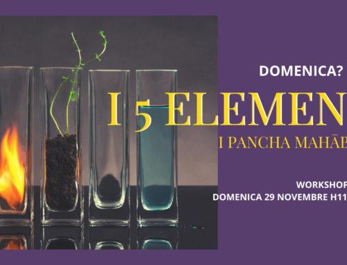 29.11.20 – Yoga della Domenica: i 5 Elementi